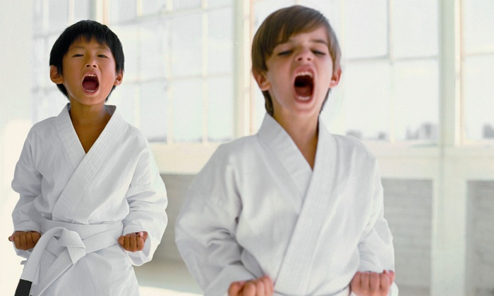 Oregon Martial Arts - Tigard Neighborhood Area 12: Kids' Martial Arts, or Adult Brazilian-Jujitsu or Kickboxing Classes at Oregon Martial Arts (Up to 85% Off)