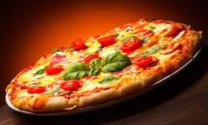 Pod Strusiem Pizza & Ristorante: 2 pizze o średnicy 32 cm na grubym lub cienkim cieście za 39,99 zł i więcej opcji w Pod Strusiem Pizza & Ristorante
