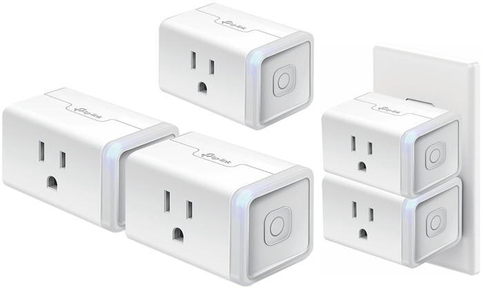 Up To 43% Off on TP-Link Wi-Fi Smart Plug (2-Pk ) | Groupon