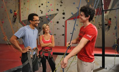 image for Introduction To <strong>Rock-Climbing</strong> Class and Two-Week Membership For Two at Vertical Ventures (Up to 54% Off)