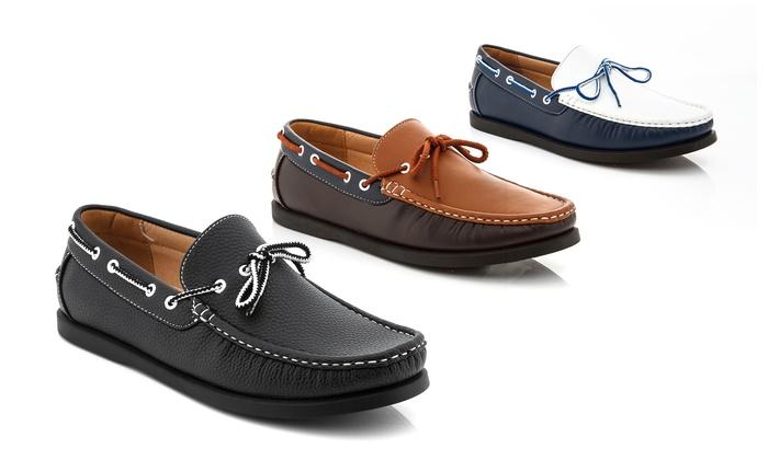 Franco Vanucci Mens Boat Shoes