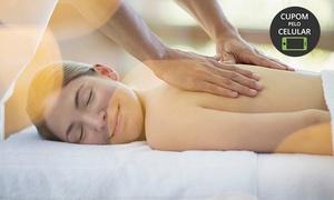 Belle Vie Biomedicina Estética: Belle Vie Biomedicina Estética - Centro: 4, 8 ou 12 visitas de massagem relaxante manual + bambuterapia + pedras quentes