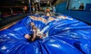 Galaxy Fun Park - North Raleigh: Two or Four 60-Minute Jump Passes w/GalaxySocks or Universe Blowout Party at Galaxy Fun Park (Up to 53% Off)