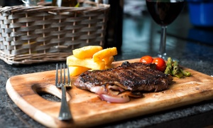 The Bear Inn: Steak Meal with Wine for Two at The Bear Inn (52% Off)