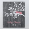 Personalized Love Birds Wall Canvas (Up to 47% Off)