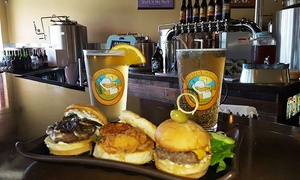 The Mucky Duck Brew Pub: Beers and Shared Plates for Two or Four at The Mucky Duck Brew Pub (Up to 48% Off)