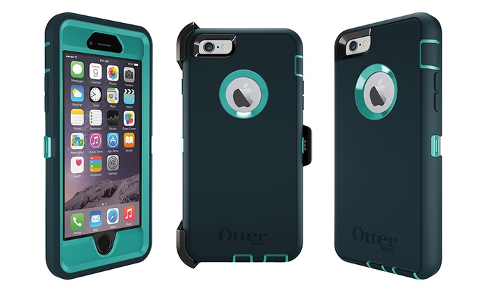 OtterBox Defender Series Case with Holster and Kickstand for Apple iPhone 6 with 4.7 Display