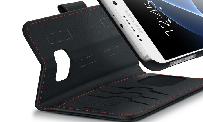 brand new 23343 7f221 Wallet Case for Samsung Galaxy   Groupon Goods