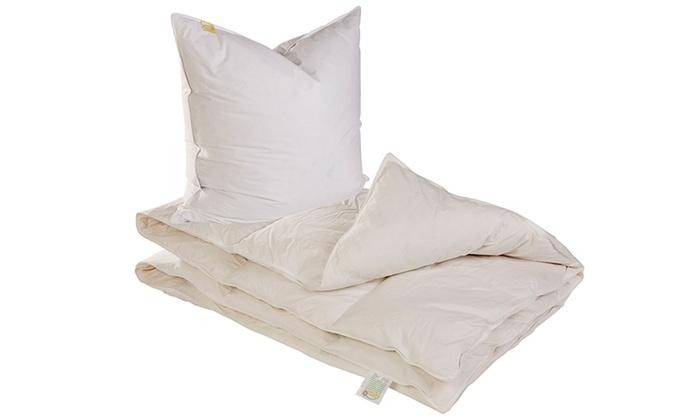 couette et coussins 2 dimensions groupon. Black Bedroom Furniture Sets. Home Design Ideas
