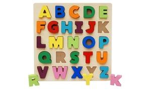 Puzzle en bois Alphabets/chiffres
