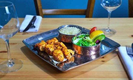 TwoCourse Meal for Two or Four at Gem Restaurant