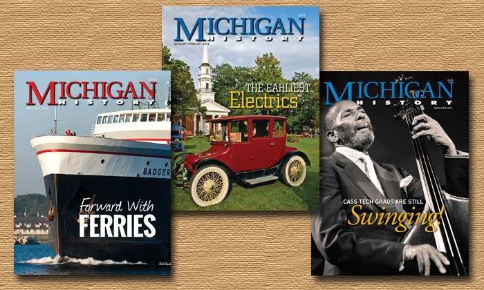 """Michigan History Magazine - Southside: $9.99 for One-Year Subscription to """"Michigan History"""" Magazine ($19.95 Value)"""