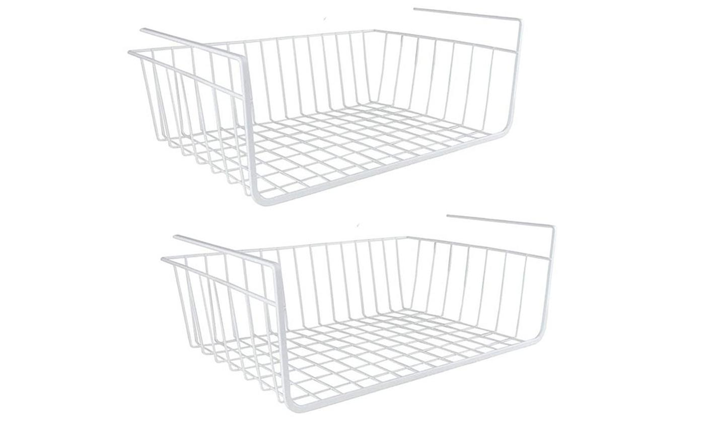 Two or Four Under Shelf Storage Baskets from £8.99 (40% OFF)