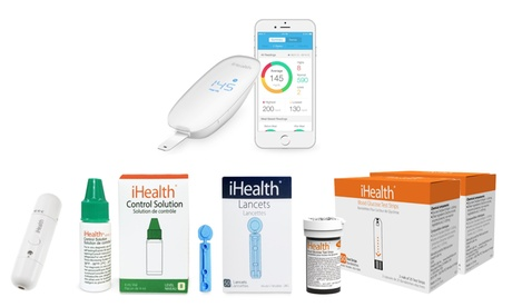 iHealth Smart Wireless Blood Glucose Monitoring System Kit cb578ae0-2540-11e7-b6df-00259069d868