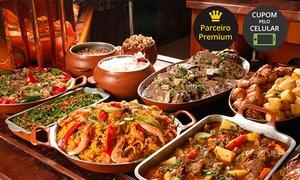 Divino Fogão – Parque Shopping Maia: Divino Fogão – Parque Shopping Maia: buffet com comida típica da fazenda para 1 pessoa
