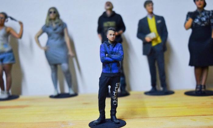 La 'mia' statuetta in 3D fino a 25 cm con Incredibile Visu (sconto fino a 50%)
