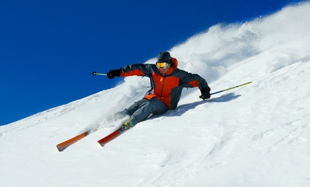 Lift Tickets for One or Two or a Lift-Ticket Package for Two or Four at Mt. Waterman (Up to 63% Off)