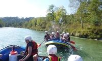 Rafting auf der Isar inkl. Leihausrüstung und Guide für 1 oder 2 Personen bei Outdoor – Dahoam (20% sparen*)