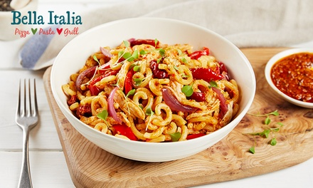 Two or ThreeCourse Italian Meal for Two at Bella Italia, Nationwide
