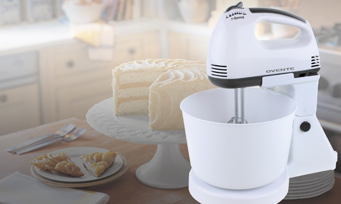 Ovente 7-Speed Stand Mixer: $24.99 for an Ovente 7-Speed Stand Mixer ($55.99 List Price). Free Shipping and Returns.