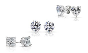 3-Pack of Sterling Silver Swarovski Elements Stud Earrings at 3-Pack of Sterling Silver Swarovski Elements Stud Earrings, plus 6.0% Cash Back from Ebates.