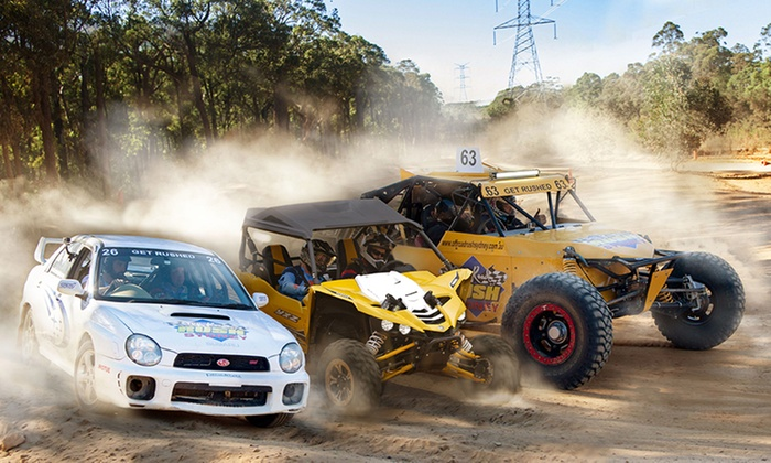 Ride in V8 Race Buggy, WRX or UTV - Off-Road Rush Sydney