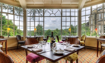 Derbyshire: 1 or 2 Nights for Two with Breakfast and Optional Dinner at Clarion Collection Hotel Makeney Hall