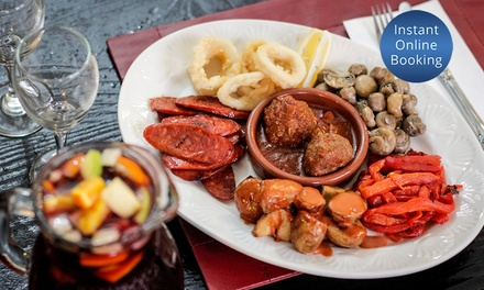 Spanish Tapas + Bottle of Wine or Sangria for Two ($49), Four ($97) or Six ($145) atCasa Asturiana(Up to$240Value)