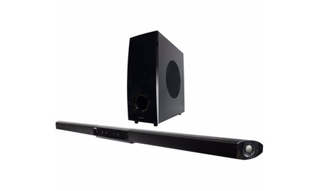 Haier 2.1-Channel Sound Bar with Subwoofer (Refurbished) photo