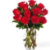 Up to 50% Off One Dozen Long Stem Red Roses from FTD.com