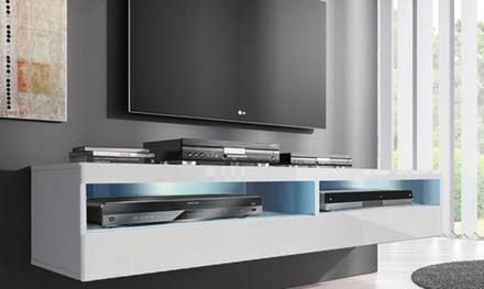 Porta tv sospeso groupon goods for Groupon mobili soggiorno