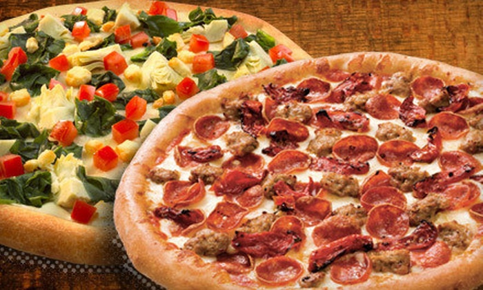 Toppers Pizza - Multiple Locations: Pizza Meal, Two Large Pizzas, or a Party Package at Toppers Pizza (Up to 54% Off)