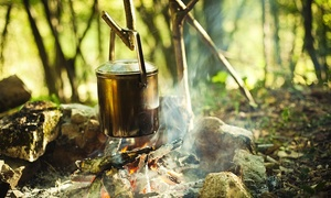 Buck Stone Bushcraft: Half-Day Bushcraft Experience for Two or Four or Full Day Family Session with Buck Stone Bushcraft (Up to 45% Off*)
