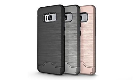 Luxe hybride hoes voor iPhone en Samsung Galaxy, keuze uit verschillende kleuren