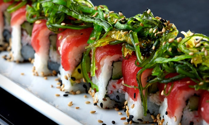 Sushi House - Devonshire,North Dallas,Oak Lawn: $40 Worth of Sushi and Japanese Fare or Sushi Meal with Soup and Edamame for Two or Four at Sushi House