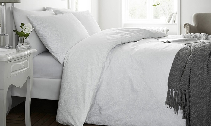 200TC Shannon Paisley Soft Touch Duvet Set from £12