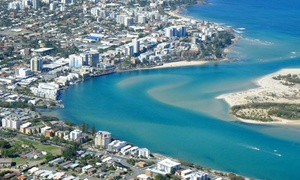 Aussie Air Scenic and Charter: $269 for Sunshine Coast Scenic Helicopter Experience for Two or Three People with Aussie Air (Up to $435 Value)