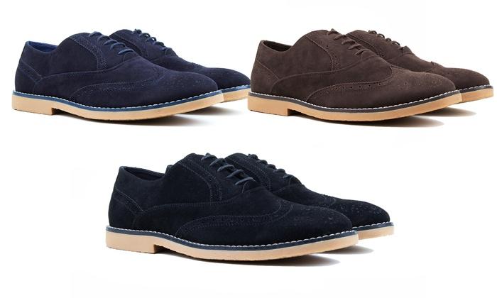 Harrison Men's Wingtip Oxford Shoes