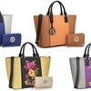 MMK Collection by DS Medium Tote Handbag with Matching Wallet