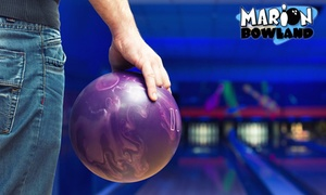 Bowland - Marion: Ten-Pin Bowling with Shoe Hire - Child ($5), Adult ($7) or Family ($19) at Bowland - Marion (Up to $48 Value)