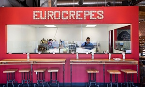$18 for $30 Worth of Food and Drinks at Euro Crepes