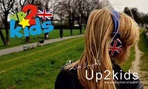 up2kids: 1 o 2 meses de inglés para niños o adultos desde 39,50 € en 17 centros up2kids