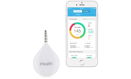 iHealth Align Blood Glucose Meter and Accessories 52e70548-f9eb-11e6-b319-00259069d7cc