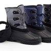 Snow Tec Men's Waterproof Snow Boots with Free Earmuffs(Sizes 12 & 13)