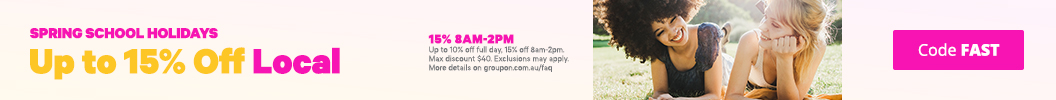Get up to 10% off full day, 15% off 8am-2pm. Valid on Local deals with code FAST. Some deals excluded.