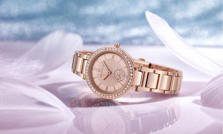 1 o 2 relojes para mujer Timothy Stone con cristales Swarovski® (envío gratuito)
