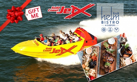 Jet Boat Ride for a Child $39, Adult $55, Plus Lunch Upgrades at Gold Coast Jet X Value