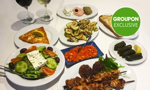 Yiannis Tavern: 12-Course Greek Banquet with Wine for 2 ($59), 4 ($115) or 8 People ($220) at Yiannis Tavern (Up to $480 Value)