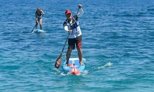 Genova Surfing Club: Esperienza di SUP (Stand Up Paddling) per una o 2 persone con Genova Surfing Club, sul lungomare di Genova