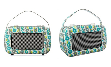 KitSound Jive DAB Floral-Print Radio for £69 With Free Delivery